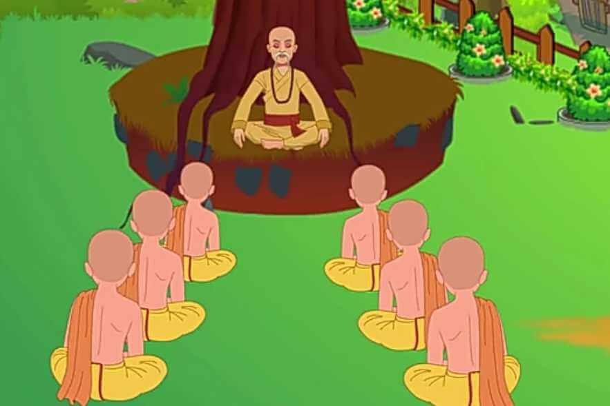 Goutam Buddha cartoon