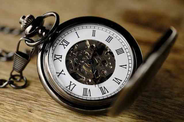 Time Management Quotes In Hindi (clock).