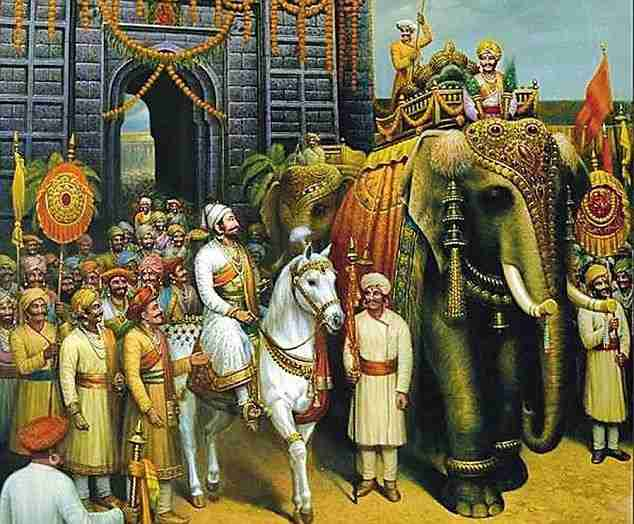 Raja Bhoj Story In Hindi. The king is starting his journey for a war.
